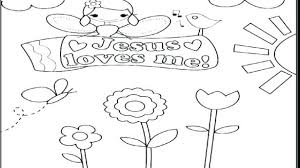 Jesus Loves Me Coloring Page To Loves Me Coloring Page Printable