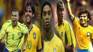 شاهد أفضل 10 لاعبين في تاريخ منتخب البرازيل - YouTube