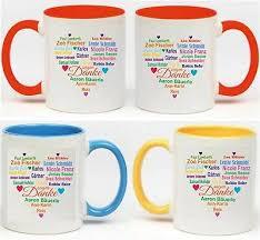 Danke Keramik Tasse Geschenk Personalisiert Schule Kindergarten Lehrer Erzieher