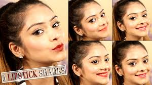 top 5 lipstick shades for indian skin tones best lipstick shades make up tips you