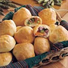 Asparagus Ham Cheese Rolls Recipe Taste Of Home
