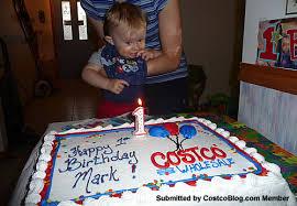Costco birthday cakes with photo