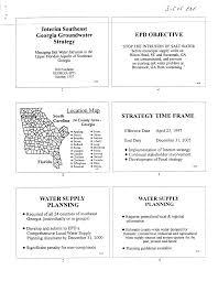 Interim Southeast Georgia Groundwater Strategy