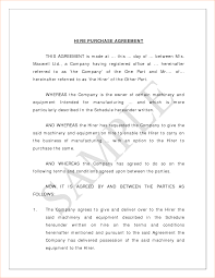 Sample Business Purchase Agreement 24 Sample Purchase Agreement Outline Templates 16