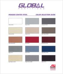 Global Powder Coated Metal Colorchart Bathroom Toilet