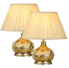 ceramic table lamps for living room pair ceramic gold table lamps with cream shades large ceramic