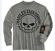 harley davidson boys willie g skull t shirt 1580509 1590509