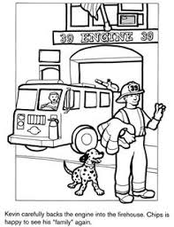 Small Picture Firefighter Coloring Pages Free Printables Firefighter Free