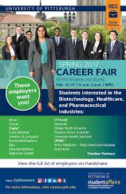 spring career fair student affairs employers by interest area