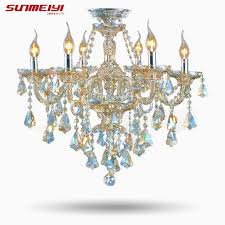 2017 top fasion tiffany candle k9 crystal light chandelier lamp lighting for living room lights foyer lamps high quality lamp cover china lamp fire