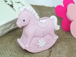 Decorated Money Box Christening New Born Bomboniere Favours Pink Rocking Horse 38