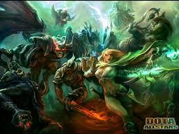 league of legends vs dota battles comic vine