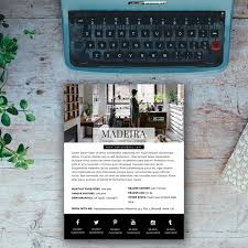Media Kit Template Madeira Blogger Templates Wordpress Themes