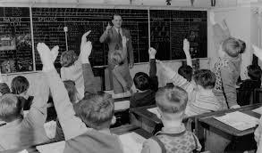Teacher Grade 3 Discussing Film Just Seen 1954 Brunswic Flickr
