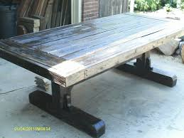 Barnwood Kitchen Table Rustic Barnwood Kitchen Table Cliff Kitchen