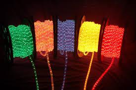 christmas rope lighting. Led Rope Lights Outdoor Christmas Lighting G
