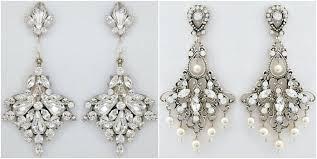 pearl and rhinestone chandelier earrings large bridal chandelier earrings by vintage pearl chandelier bridal earrings