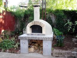 Outside Pizza Oven Design