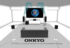 onkyo ht s7700. dolby atmos-enabled 5.1.2 speaker package. the ht-s7700 onkyo ht s7700 t