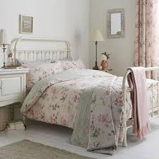dreams n ds lorena fl print reversible duvet cover set blush super king linens limited