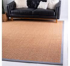 8 x 8 sisal square rug