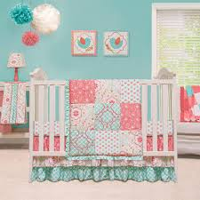modern baby crib bedding baby duvet sets gray and pink nursery