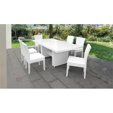 monaco patio dining table with 6