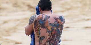 Ben Affleck Seen With Back Tattoo Years After Calling It Fake