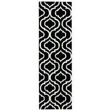 black and white runner rug linear black white runner rug black white striped runner rug blue