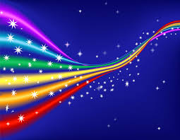 star ppt background rainbow with stars powerpoint templates rainbow with stars