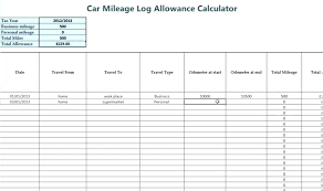 car mile tracker mileage tracker excel printable log inspirational vehicle