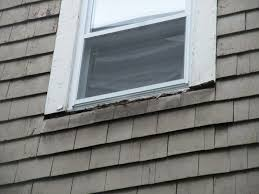 exterior window replacement. Delighful Replacement Failed Window Sill With Replacement Installed For Exterior Window Replacement E