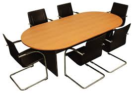 wooden office table. modern office desks ideas with natural wooden oval boardroom desk table