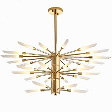obsess sputnik mini chandelier ambient light electroplated painted finishes metal new design 110