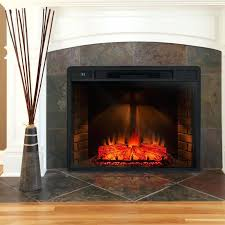 electric fireplace installation instructions modern stone mantel