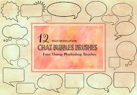 Photoshop Speech Bubble 12 Speech And Chat Bubbles Brushes For Photoshop Photoshop