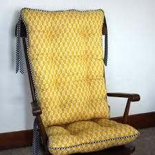 custom organic abbey rocking chair cushions glider replacement