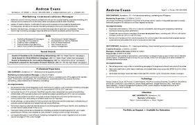 Marketing Manager Resume Samples Inspiration Resume Samples For Marketing Gorgeous Computer Science R Superb