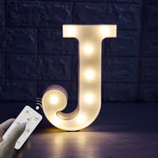 Newly Upgrade Led Marquee Letter Lights With Remote Control For