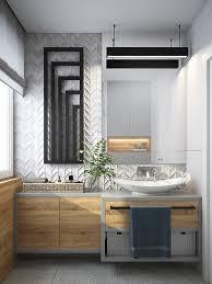 Bathroom vanity design Contemporary 12 Visualizer Karolina Chrząszcz Interior Design Ideas 40 Modern Bathroom Vanities That Overflow With Style
