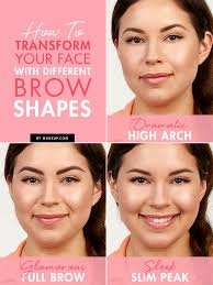 how to change your eyebrow shape