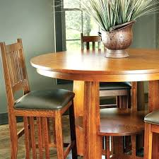 round shaker dining table mission style set cherry plans classic dinin
