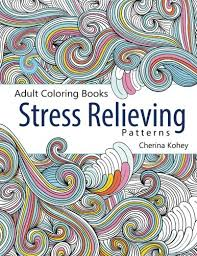 amazon coloring book stress relieving patterns volume 5 9781515331896 cherina kohey books