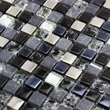 luxury grey khaki glass stone
