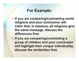 compare and contrast essay by anne garett 19