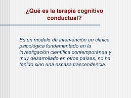 Terapias Cognitiva Conductual Ppt Video Online Descargar