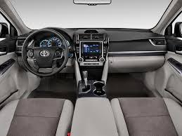 Image: 2012 Toyota Camry Hybrid 4-door Sedan XLE (Natl) Dashboard ...