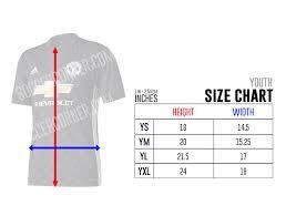 Adidas Jersey Size Chart Cm Adidas Clothing Size Chart Cm