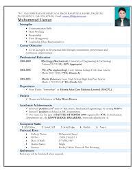 Sample Resume For Civil Engineer Fresher Resume Ideas