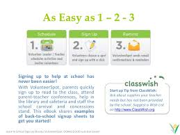 Easy Sign Up Sheet Back To School Classroom Sign Up Forms Fast Easy And Free